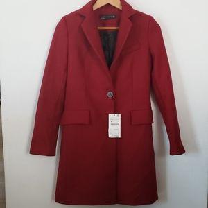 NWT Zara womans red blazer